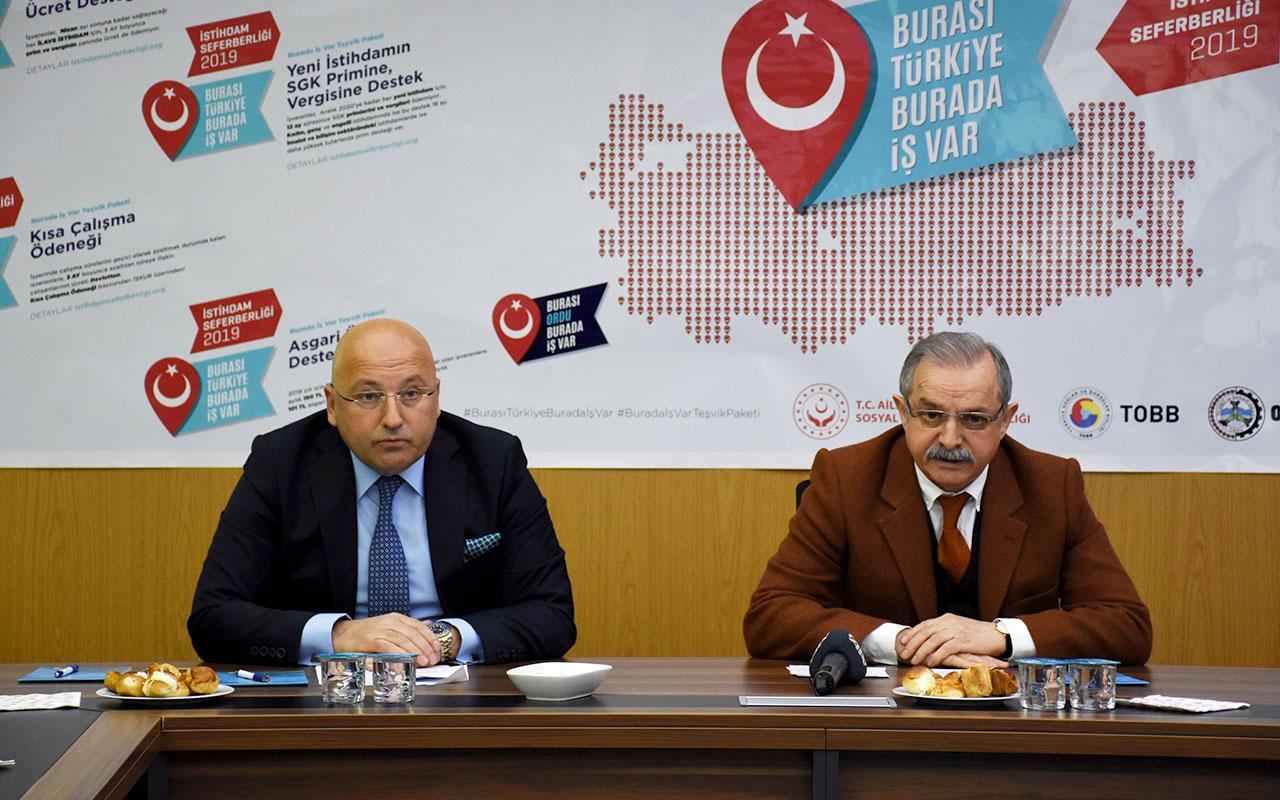 Başkanımız Ziver Kahraman'dan İstihdam Seferberliği Basın Açıklaması